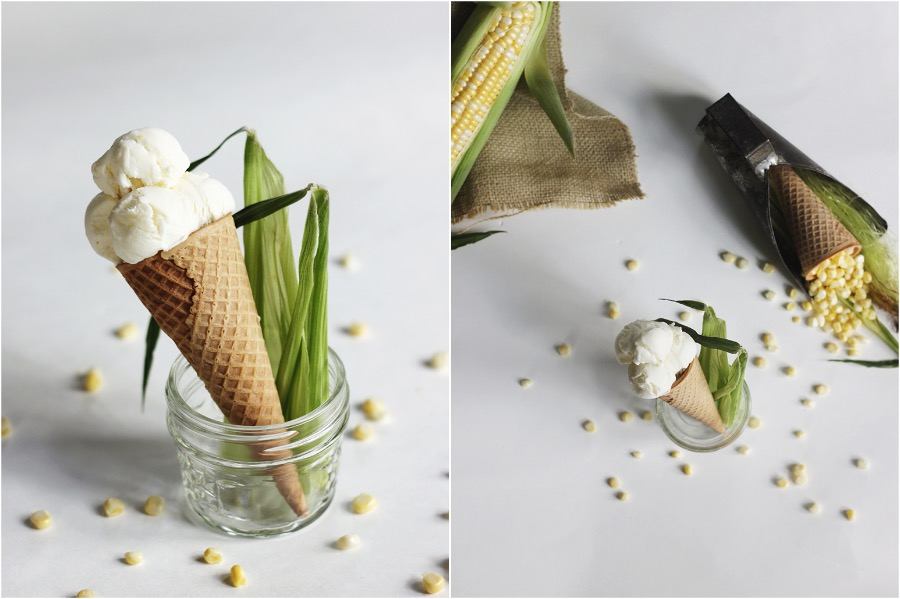 9. Sweet Corn Cilantro Ice-Cream | 10 Desserts With Herbs You Should Try | Her Beauty