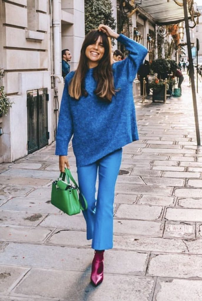 14 Chic Ways To Carry Around A Coloured Bag #6 | Her Beauty