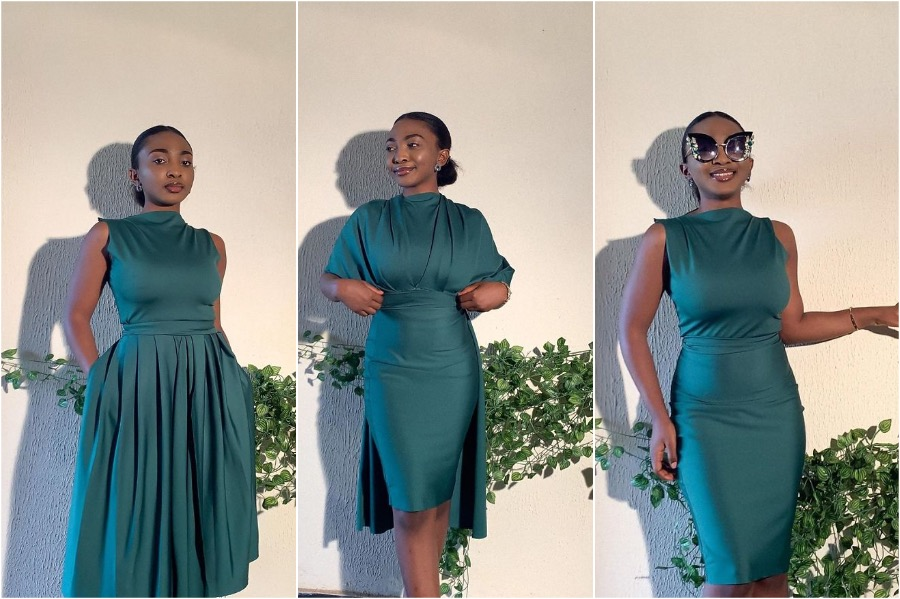 Nigerian Fashion Designer Makes Awesome Transformer Dresses | Her Beauty