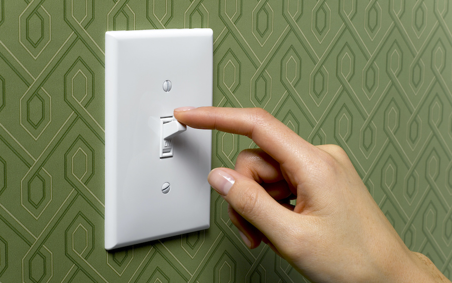 1. Light Switches | 8 Things In Your Home You Are Not Cleaning But Should | Her Beauty
