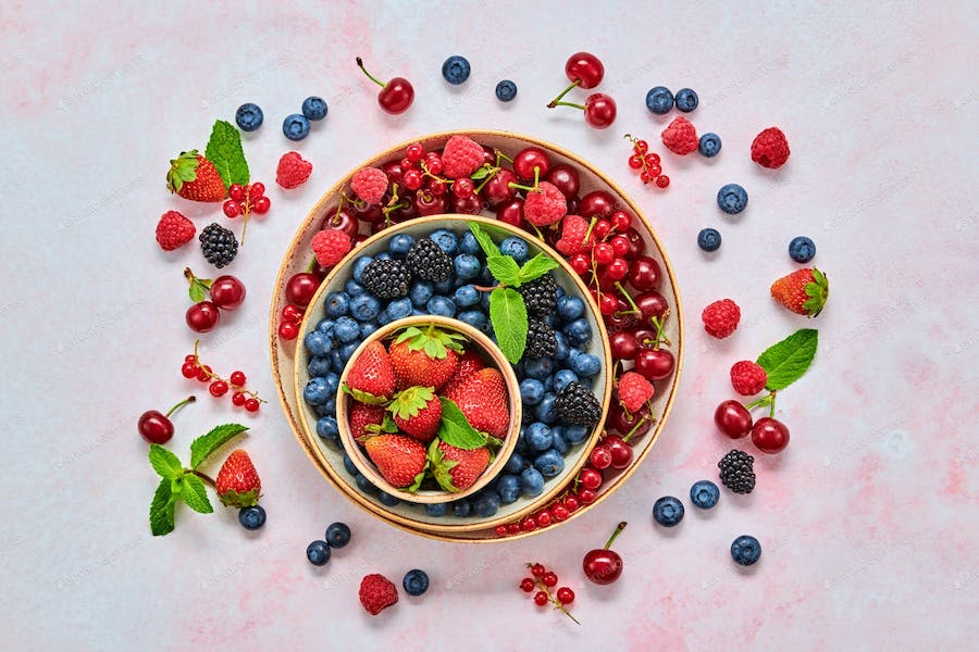5. Berries   Foods You Should Eat For Healthy Hair And Nails   Her Beauty