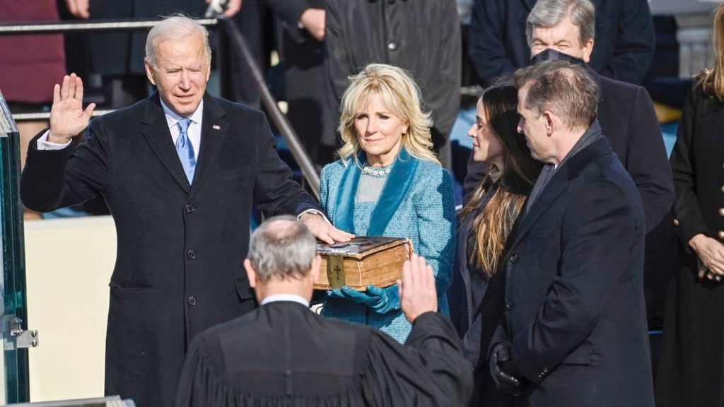 5.The Bidens | Memorable Moments From The US Inauguration Day 2021 | Her Beauty