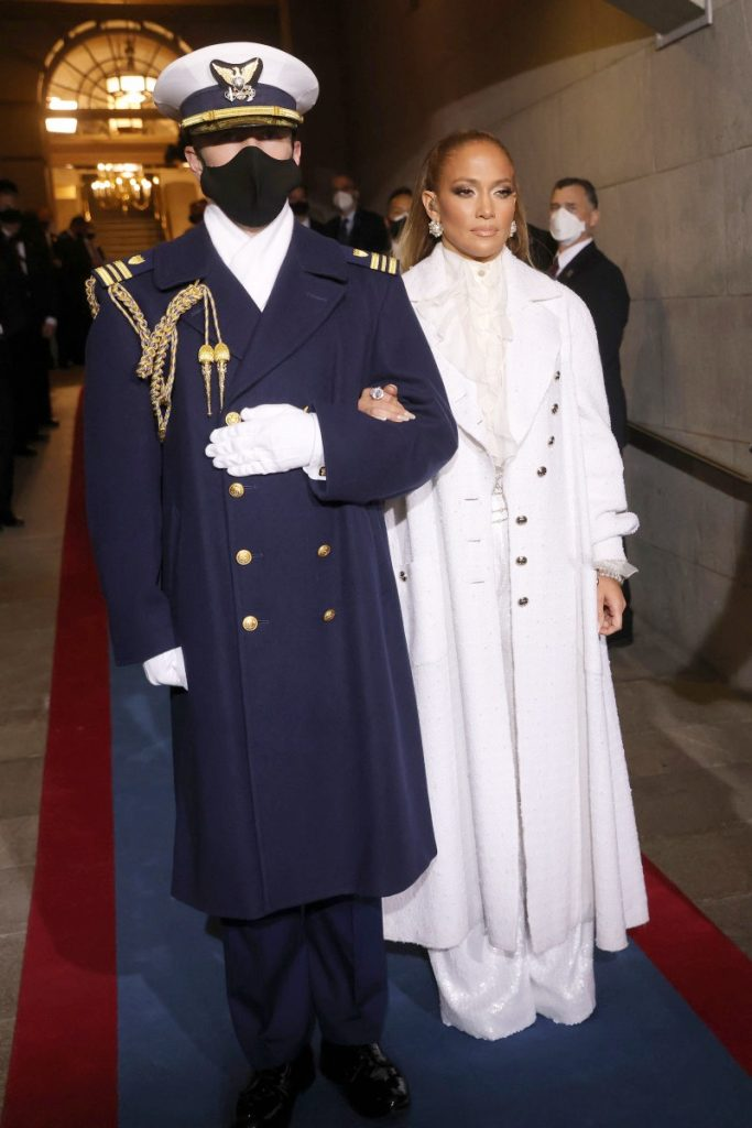 6.Jennifer Lopez | Memorable Moments From The US Inauguration Day 2021 | Her Beauty