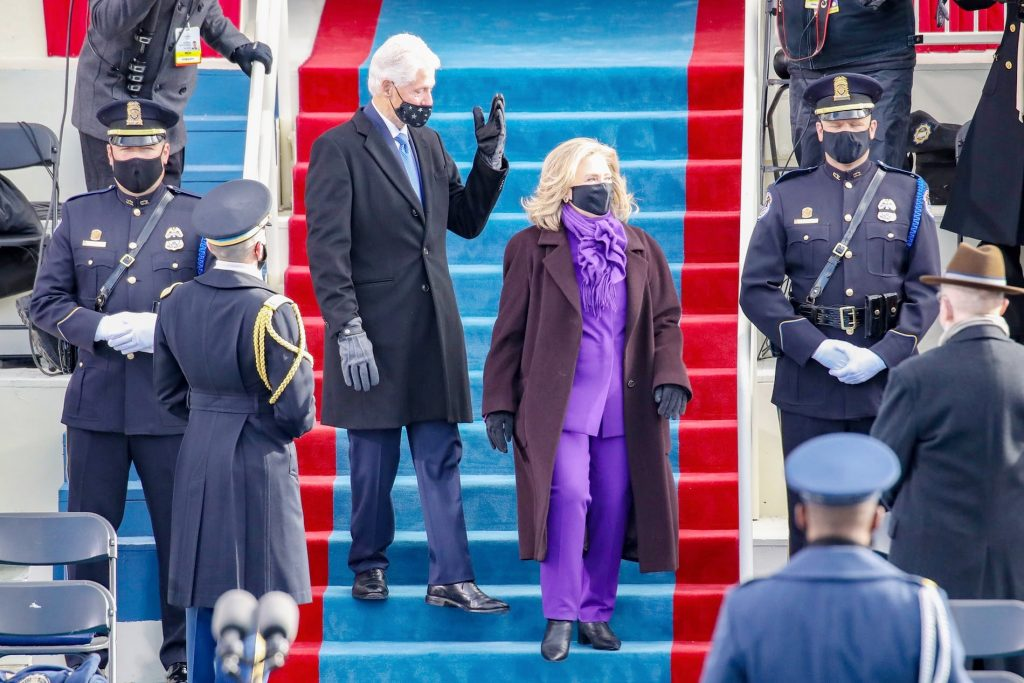 7.Hillary Clinton | Memorable Moments From The US Inauguration Day 2021 | Her Beauty