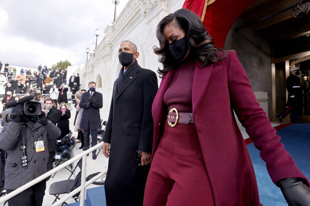 2.The Obamas | Memorable Moments From The US Inauguration Day 2021 | Her Beauty
